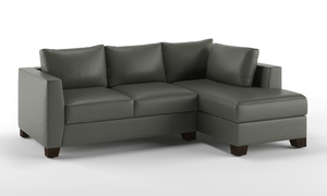 Oliver L Shape Sofa, 2 Seater with Chaise (R)