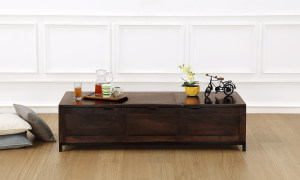 Iksha Coffee Table, with Storage